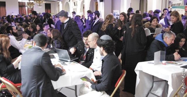 Alyah des juifs de france le salon tr s attendu de l for Les salons vianey